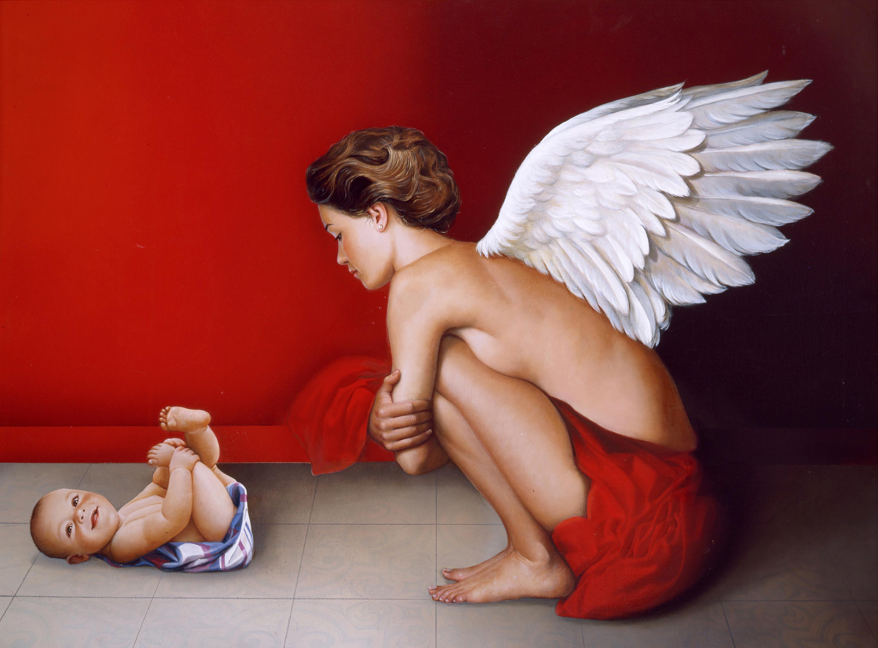 Adoración del ángel