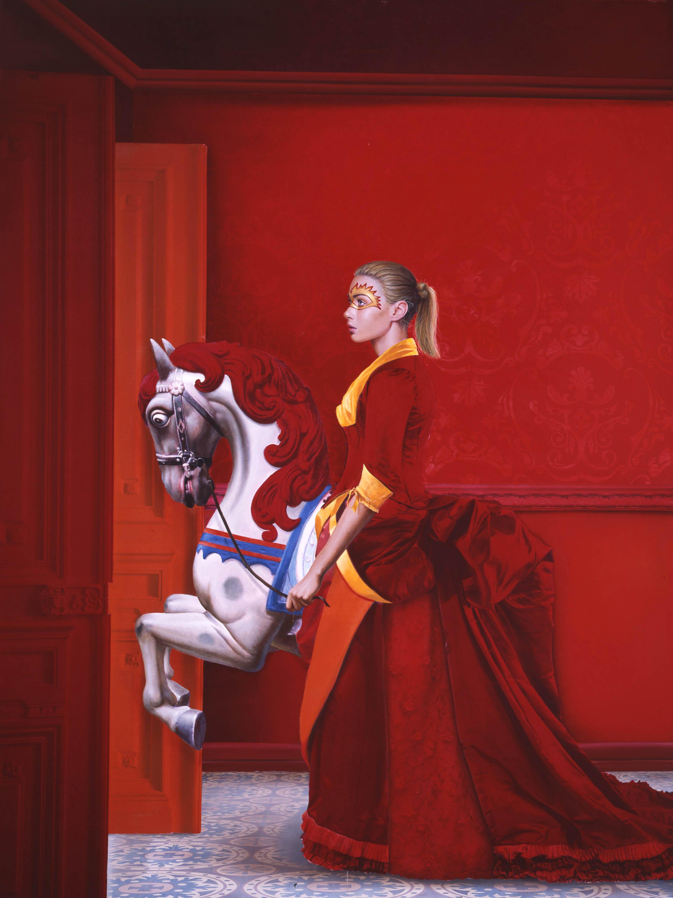 Mujer con el caballo